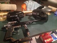 Paintball gun / accessories to sale