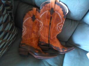 Ladies Size 10MD Pistolero Western Boots Cowboy Boots Like New