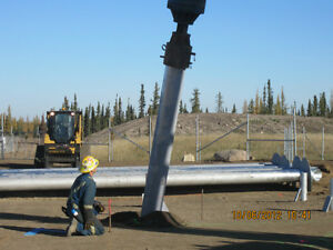 SCREW PILES INSTALL AND SUPPLY OR INSTALL ONLY Strathcona County Edmonton Area image 2