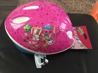 Brand new Shopkins helmet