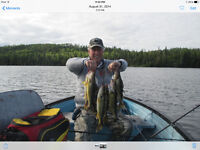Hunting and fishing in Manitouwadge.