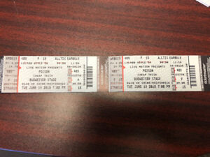 Poison tickets for June 19 Toronto