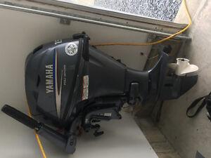 Yamaha 15hp outboard boat motor