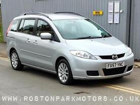 2007 MAZDA 5 2.0d TS2 5dr 7 seats tow pack