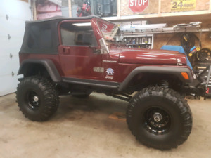 Price drop! Lifted v8 jeep tj