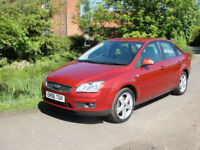 2007 FORD FOCUS 2.0 GHIA (145ps) SALOON - FULL HISTORY - LOW MILES @63K -