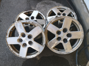 16, winter rims 5x115 Aluminum $80