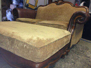 Classy Loveseat and Ottoman- Delivery