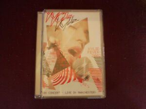 dvd in concert /live in manchester kylie Minogue fever 2002