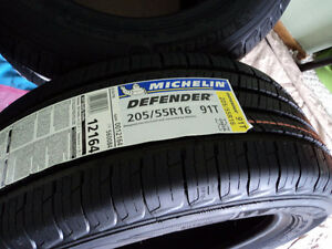 205/55R16 set of four Brand New Michelin Defender all season