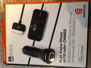 Griffin iPod/iPhone charger kit new