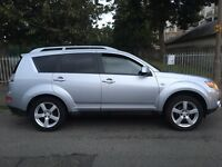 2008 Mitsubishi Outlander Warrior Di-d 2.0 diesel 7 seater 6 speed 4x4 AWD fully loaded px swap