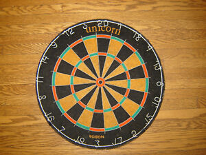 Vintage Nodor Bristle Dart Board - Made in England