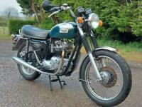 1980 TRIUMPH BONNEVILLE T140E. MATCHING NUMBERS. NICE CLASSIC DELIVERY AVAILABLE