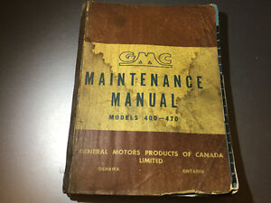 gmc truck ton buy or sell heavy equipment in british columbia 1950 51 gmc 400 470 h model trucks cdn shop manual hcs 405