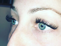 Full set eyelash extensions $100