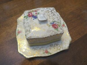 H&K  Tunstall Cheese/Butter Dish