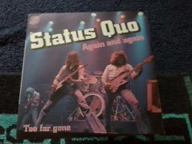 """STATUS QUO. 7"""". SINGLE"""