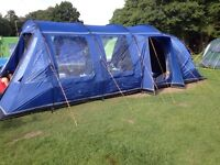 Tent family 8 berth vango 4 bedroom pods (removable)
