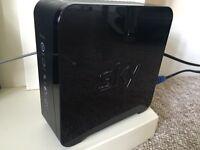 SKY Broadband Wireless Hub/Router Wifi/WPS SR102 Black