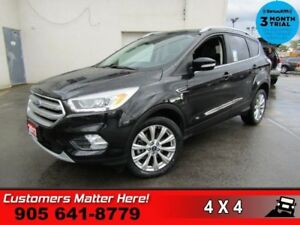 2017 Ford Escape Titanium  AWD NAV ROOF CAM HS P/SEATS MEM