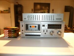 Cassette player and equalizer
