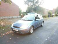 FORD FOCUS AUTOMATIC 1.6 LX 5 DOOR ONLY 82K MOT TESTED