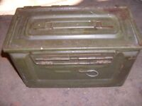 AMO BOX,    military amunition strong container