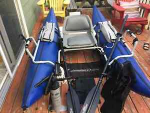 Buck's Bags 9' High Adventure Pontoon Boat