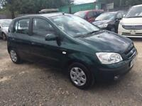 HYUNDAI GETZ 2003 1.1 CDX PETROL - MANUAL - LOW MILEAGE - 1 OWNER FROM NEW