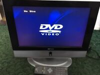 "Dmtech 17"" TV/DVD Combo"