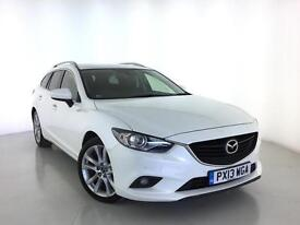 2013 MAZDA 6 2.2d [175] Sport Nav Sat Nav Leather Bluetooth 1 Owner