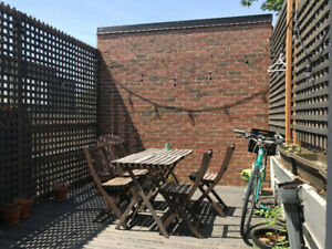 Dupont / Dovercourt - 1 Bedroom + Deck Sublet - July 20-Aug 10