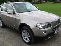 BMW X3 2.5 auto 2009 xDrive25i SE Low Mileage / Full years Mot