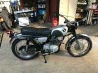 1968 Honda CL77 305cc, PART RESTORED, FULL ENGINE REBUILD, NOVA CERTIFICATE