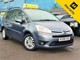 2008 CITROEN C4 GRAND PICASSO 1.6 VTR PLUS HDI 110BHP+P/X WELCOME+PAN-WINDSCREEN