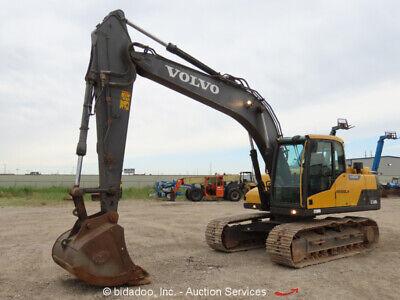 2013 Volvo Ec160dl Hydraulic Excavator Ac Cab Tractor Aux Hyd Bidadoo