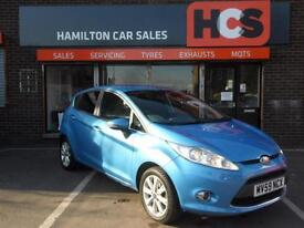 Ford Fiesta 1.25 Zetec Blue - 1 YEAR WARRANTY, MOT & AA COVER INCLUDED