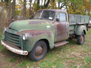 Western 1952 GMC heavy longbox pickup,  sell/trade