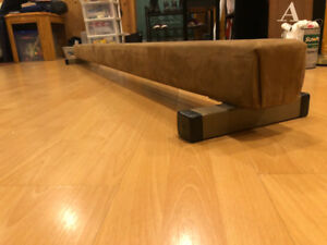 Gymnastics 8 foot balance beam