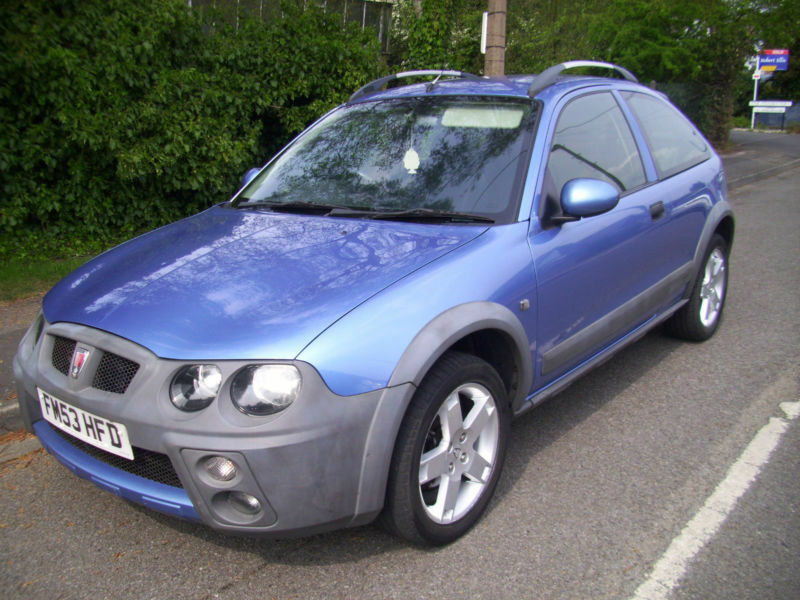 2003 03 Reg Rover Streetwise 14 16v 103ps Se In Stapleford