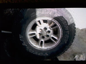 Tires and rims, and other parts for sale London Ontario image 1