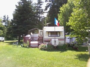 CAMPING TRAILLER 25 PIED  1991 A VENDRE