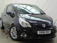 2011 Vauxhall Corsa VXR Petrol black Manual