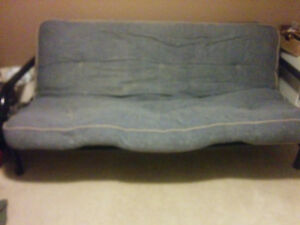Futon Couch Metal Good Condition