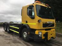 2008 58 Volvo FE 320 6x4 chassis cab, ex council