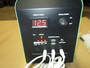 12 VOLT SOLAR KIT COMPLETE FOR CABIN/CAPING/HUNTING PORTABLE Prince George British Columbia image 7