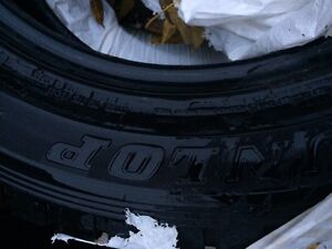 Dunlop Winter tires almost new!