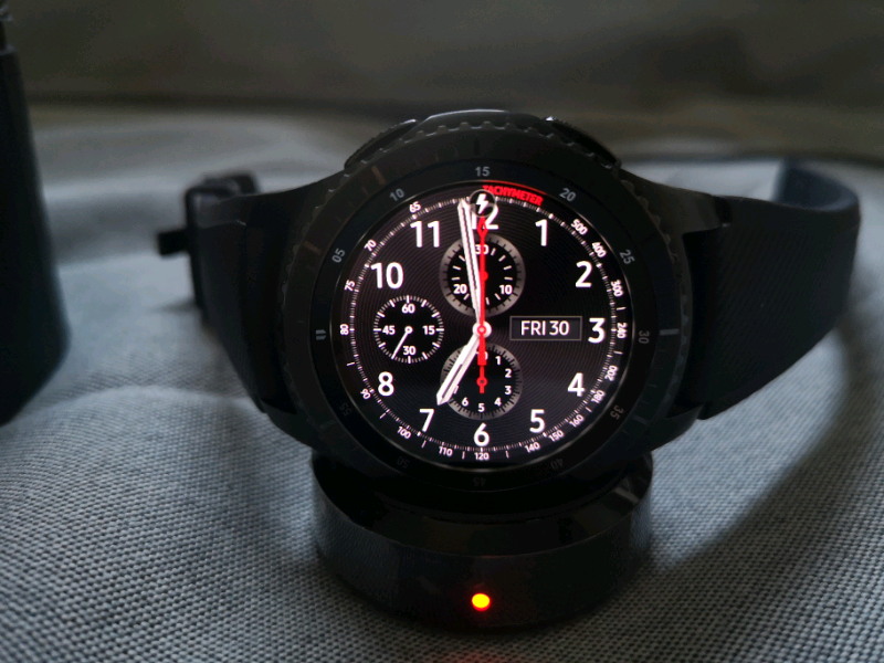 Samsung Gear S3 Frontier smartwatch - perfect condition | in Brighton, East  Sussex | Gumtree