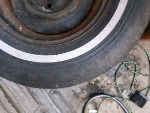 Trailer rims and tires 5x4.5 Kitchener / Waterloo Kitchener Area image 2